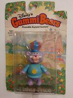 Vintage 1985 Disneys Gummi Bears Poseable Zunni Gummi Fisher Price NIB