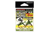 Decoy DJ-93 Dancing Jack Light Game Jig Hooks Twin All Sizes 2pcs/pack