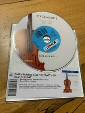 3D Concerts - DOSC ONLY blu ray - Fairy Forest / The Feast (Szabols Kovi)