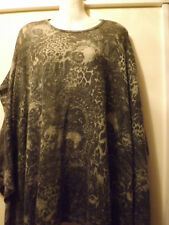 Ladies one size mohair/acrylic jumper top