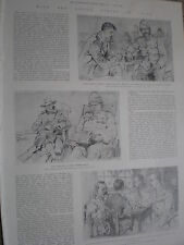 With the allied forces in China 1900 old prints and article