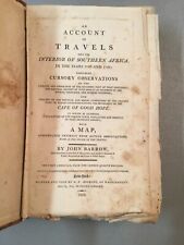 An Account of Travels into the Interior of Southern Africa, Barrow 1ST 1802 wMAP