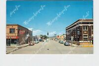 PPC POSTCARD NM NEW MEXICO CLAYTON MAIN BUSINESS STREET VIEW RED'S CAFÉ