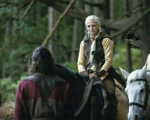 """GEORGIA HIRST signed Autograph 20x25cm Photo """"Vikings"""" In Person"""