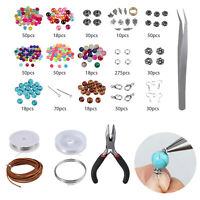 DIY Jewellery Making Kit Tool Supplies Findings Starter Plier Beading Accessorie