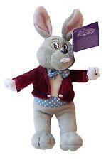 Give Kids The World Mayor Clayton Plush Toy Bunny in Maroon Waistcoat BRAND NEW