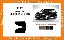 pellicola oscurante vetri fiat freemont   dal 2011 al 2015 kit anteriore