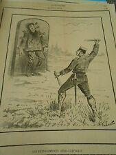 Typo 1890 - Diverstissement Sino Japonais Le Lanceur de Couteaux