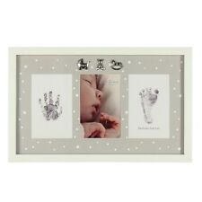 Bambino Hand Foot Print Kit with Ink Pad Triple Aperture Photo Frame CG1087