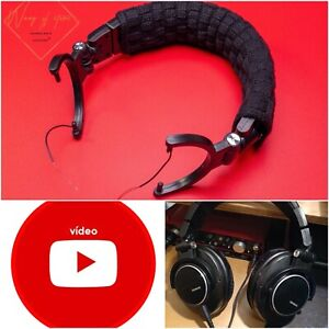 Replacement Headband Cushion Top Head Band Pads For Shure SRH 840 440 Headphones