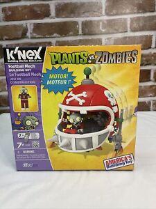 Plants Vs. Zombies Knex Football Mech Set Open, New