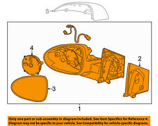 Chevrolet GM OEM 15-16 Sonic Door Side Rear View-Mirror Assy Right 95205415
