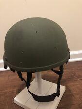 MSA MICH TC2000 Ballistic Helmet 3-Hole Warcom XL OD Navy SEAL NSW MARSOC ACH US