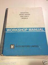 Industrial Diesel Engine 6RB1 & 6RB1-T Workshop Manual Isuzu