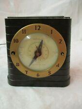 Vintage 1940's Telechron Household Timer Alarm Clock runs Model 8HA61
