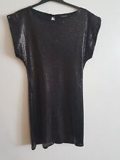 ATMOSPHERE - Ladies Womens Girls Black Sequin Formal / Party Dress Size 10