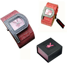PlayBoy Genuine Ladies Girls Wife Ideal Gift Watch With Gift Box PB0189PK