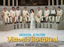 VITTORIO BORGHESI ORCHESTRA disco LP 33 MUSICA LEGGERA ALL'ITALIANA 1985 LISCIO