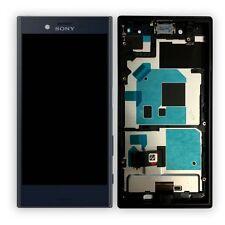 Pantalla Sony LCD completo con marco para Xperia x Compact f5321 negro de sustitución