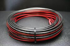 8 GAUGE PER 10 FT RED BLACK ZIP WIRE AWG CABLE POWER GROUND STRANDED COPPER CAR