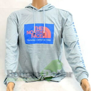 The North Face Men's 66 CA Tri-Blend P/O Hoodie Faded Blue Heather