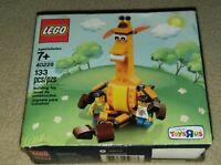 Toys R Us Geoffrey Giraffe & Friends Lego Set (40228) RARE EXCLUSIVE TOYS R US