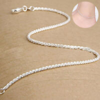 Ankle Jewelry Fashion Chain Anklet Beach Women Bracelet Silver Foot