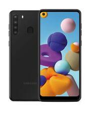 "Samsung Galaxy A21 6.5"" A215U 32Gb Unlocked Gsm Cell Phone Black Very Good"