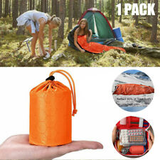 Emergency Survival Bivvy Bag Waterproof Blanket PE Sleeping Bag Survival Gear US