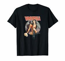 Vampirella Comic Book Vampire Superheroine Black T-Shirt Dracula Sofia S-6XL