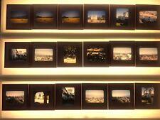 Vintage Kodachrome Red Border Slides 1955 Vacation Buildings Landscape