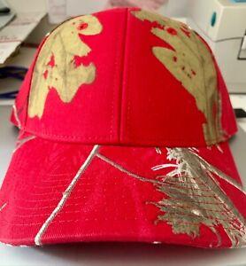 REALTREE APC Camo Baseball Hat - NWT Womens or Mens Deep Red-Pink