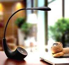 Rechargeable LED Desk Lamp Table Read Book Light Dimmable 3Level gift black L01