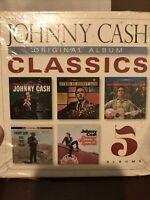 JOHNNY CASH - ORIGINAL ALBUM CLASSICS 5CD