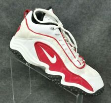 1999 Vintage NIKE Air Red/White Basketball Shoes Sneakers NEW old Stock Size 12