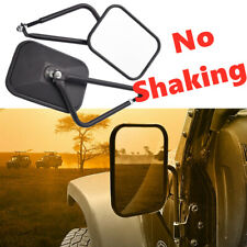 Side View Door Mirrors Set Rear View Left Right For 07-17 Jeep Wrangler JK CJ YJ