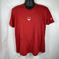 Apple Computers iMac Employee Unisex XL Staff T Shirt Red Graphic Tee