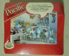Pacific Fancy Flyers Mickey Mouse Twin 3 Piece Disney Sheet Set Fabric Bedding