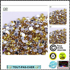 120 Strass 3D Perles Bijou Ongles Décoration NAIL ART MANUCURE GEL UV OR