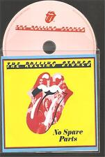 """ROLLING STONES """"No Spare Parts"""" 1 Track PVC Sleeve Promo CD Rare"""