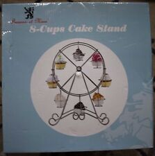 Francois et Mimi 8-Cup Metal Rotating Ferris Wheel Cupcake and Dessert Stand