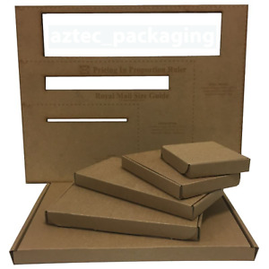 A4 A5 DL Postage Boxes PIP Large Letter Royal Mail Cardboard Postal Mailing Box