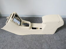 GENUINE CENTRE CONSOLE CENTER ARMREST COMPLETE VW SHARAN 7N Leather Beige