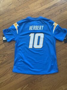 New Justin Herbert Chargers Youth XL Jersey - Fits Like Adult Small