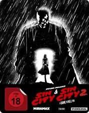 Sin City: Teil - 1 & 2  [2 Disc Blu-ray Steelbook](FSK 18/NEU/OVP) Frank Miller,