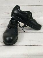 SAS Free Time Tripad Comfort Black Leather Walking Shoes Women's 9S Diabetic