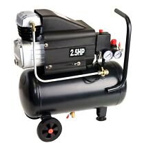 2kW Kompressor Kessel 24L 120 l/min 230Volt 8bar Air Compressor black 01858