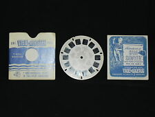 VINTAGE VIEW-MASTER 3D ~ SAM SAWYER #2 ~ SAM FINDS A TREASURE 1950 w/ Booklet