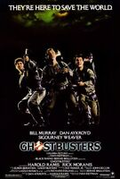 """GHOSTBUSTERS (1984) Movie Poster [Licensed-New-USA] 27x40"""" Theater Size"""