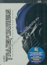 TRANSFORMERS  COLLECTOR'S EDITION STEELBOOK 2 DVD NUOVO
